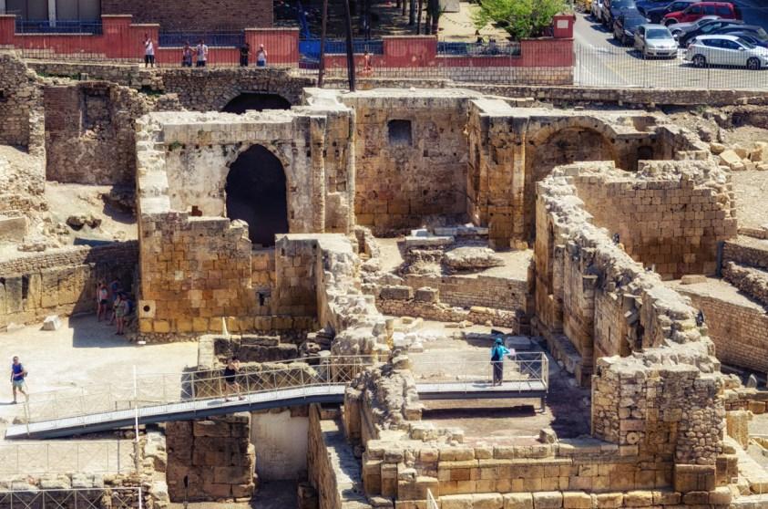 Roman Amphitheater, Tarragona, Catalonia, Spain