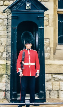 Scots Guard at the Tower of London