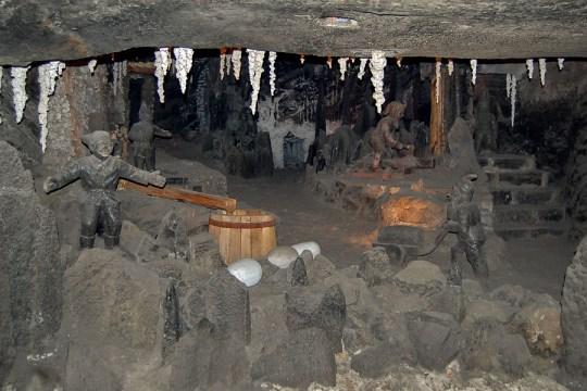 Wieliczka Salt Mines, Poland