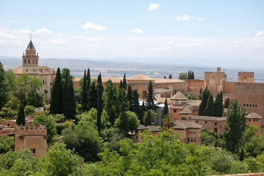 View to Alhambra from Generalife