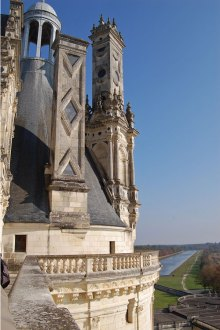 Chambord roof detail, Loire Valley