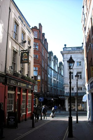 A corner of West End, London