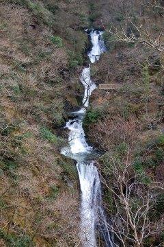 Waterfalls at Devils Bridge, Wales