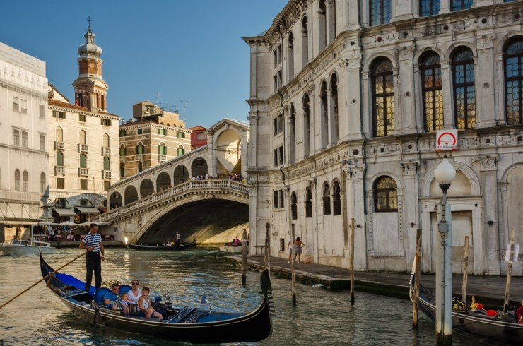 On Grand Canal in Venice