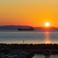 Sunrise on Crete