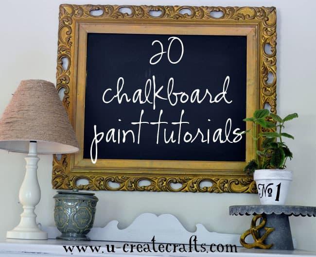 20 Chalkboard Paint Tutorials  Pinnuttycom