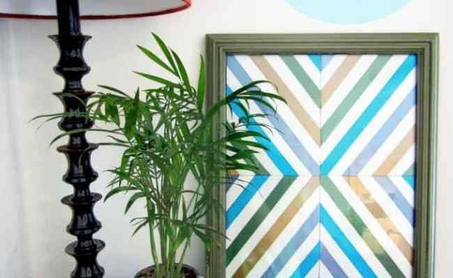 50 Diy Wall Art Tutorials Burlap And Blue Bloglovin
