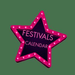 Festivals Calendar Logo 10 Degrees