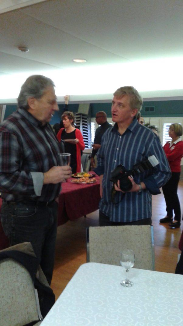 Wayne & Derek at BCA Christmas Party 2016