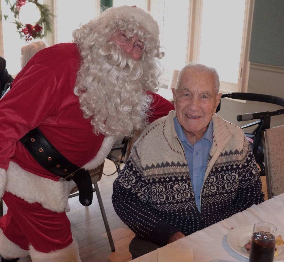Santa & Andy 2015