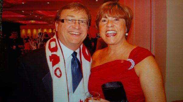 Mike & Caroline at Carpenter Hospice Gala 2014