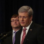 PM Harper & MP Mike at grand Opening of BPAC 2012