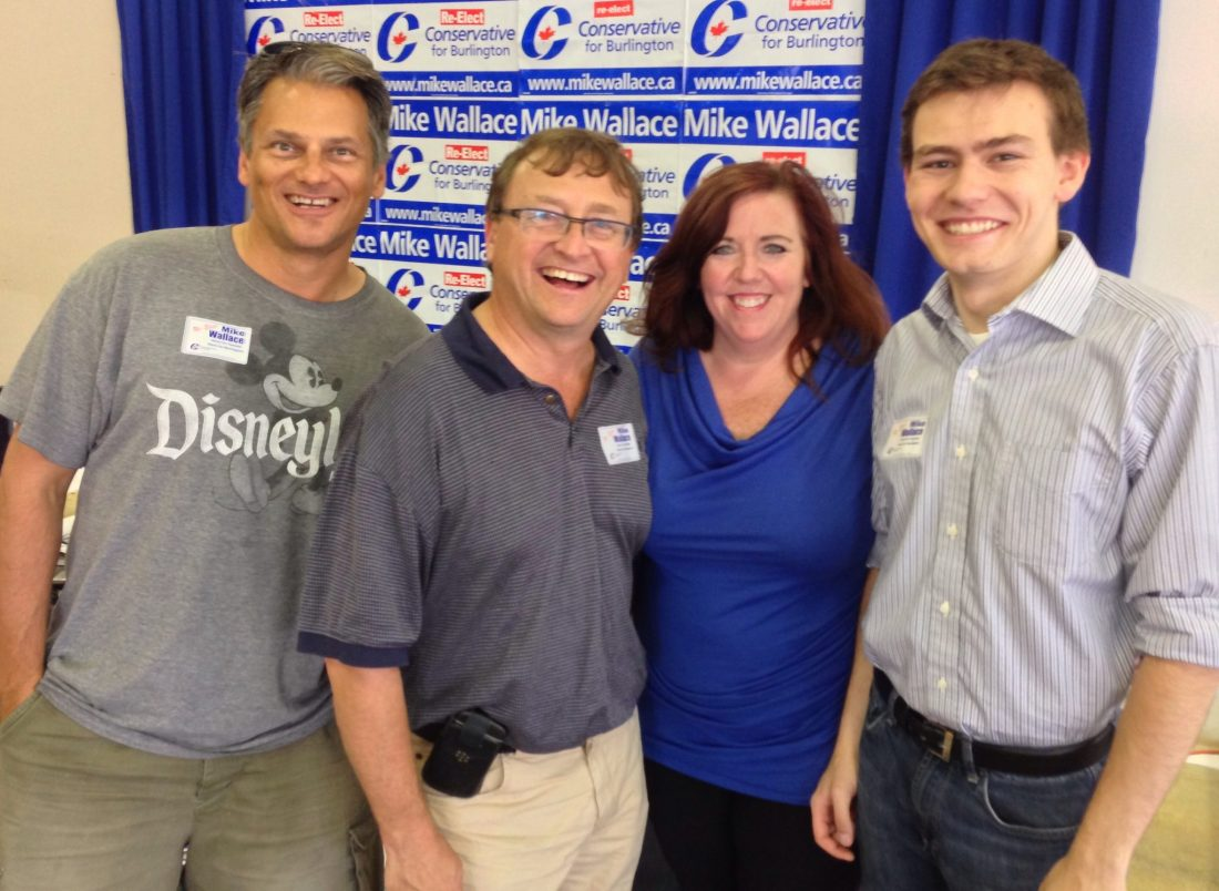 Canvass crew ready to go Aug 22 2015