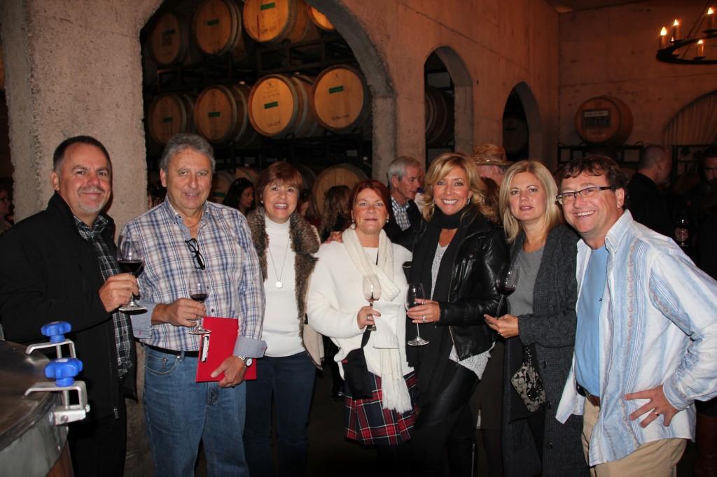 Wine Tour Fundraiser 2014