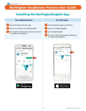 PDF Installing BurlingtonEnglish for PC Users