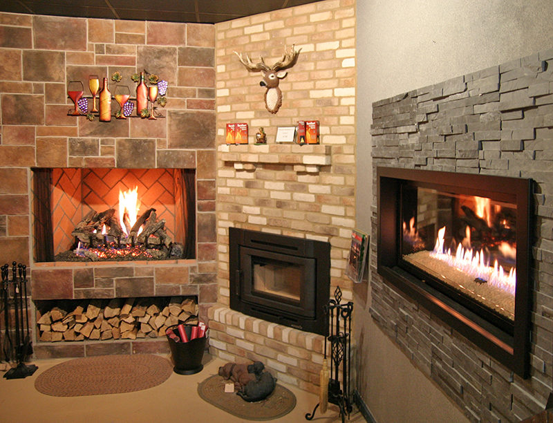 Gas Fireplace Types Visit Our Showroom