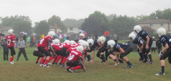 The students on the Bateman High School football team would love an opportunity to play in the rain. According to their side of the story they are not being given the chance they feel they deserve.