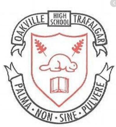Oakville Trafalgar HS crest
