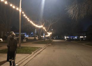 Margo street lights