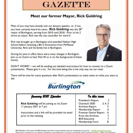 January 2021 Gazette
