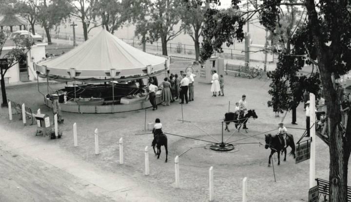 Canal Amusement Park, Burlington Beach, ca 1950