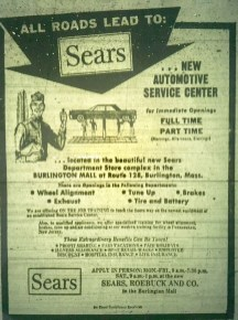 Sears Auto Center Burlington MA