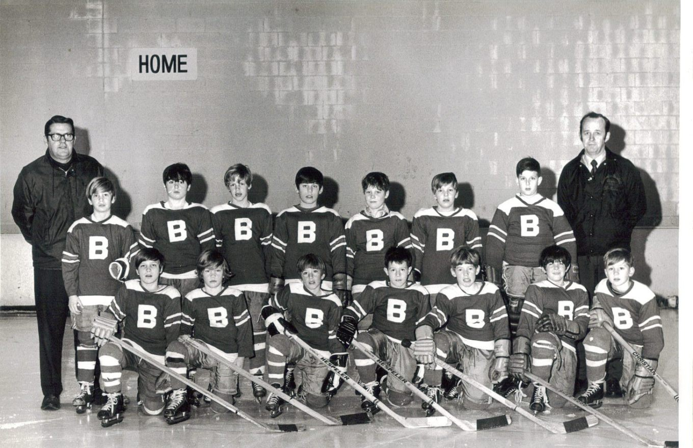 Burlington, MA youth hockey 1969-70