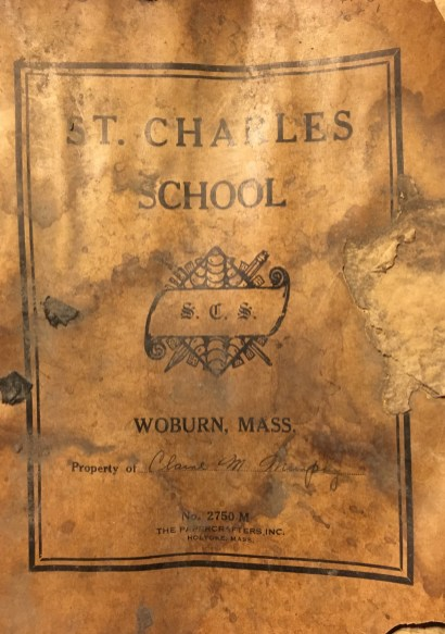 Claire M. Murphy's diploma cover