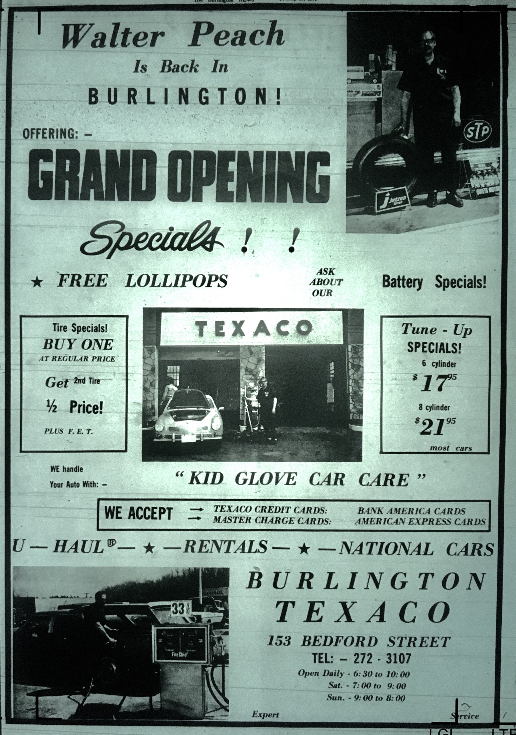Burlington Texaco, Burlington, MA