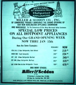 Miller & Seddon, Burlington MA