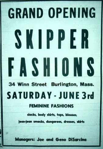Skipper Fashions, Burlington MA