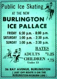 Ice Palace grand opening Burlington MA