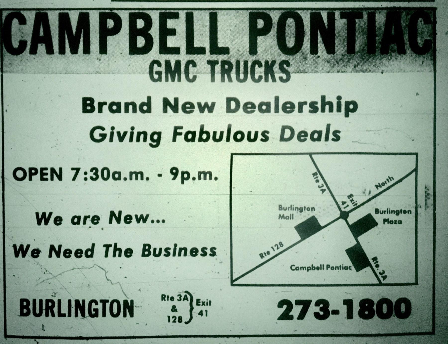 Campbell Pontiac