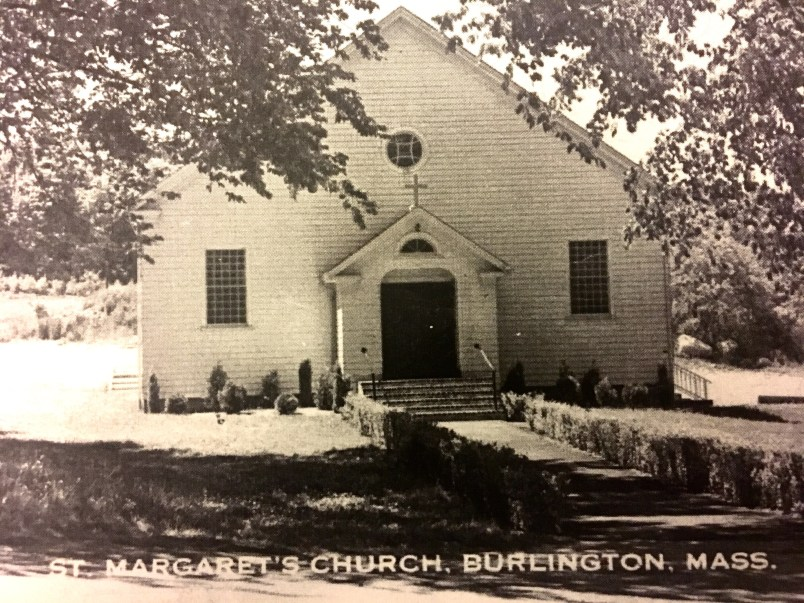 St. Margaret's Parish when it was located on the fork of Winn and Center Streets