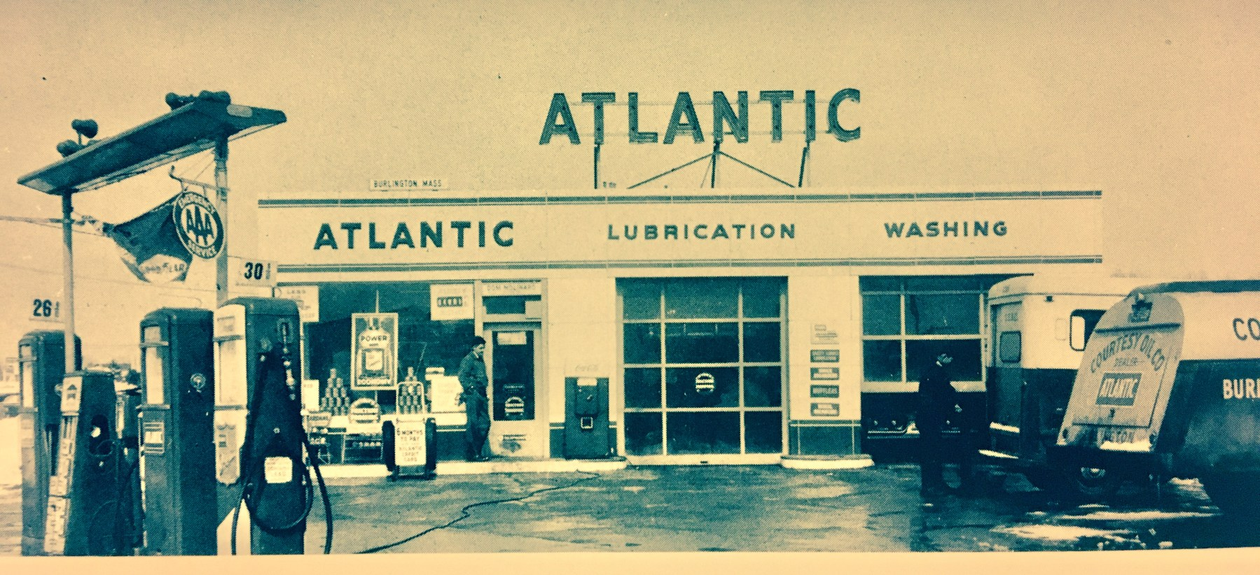 Atlantic gas station Burlington MA