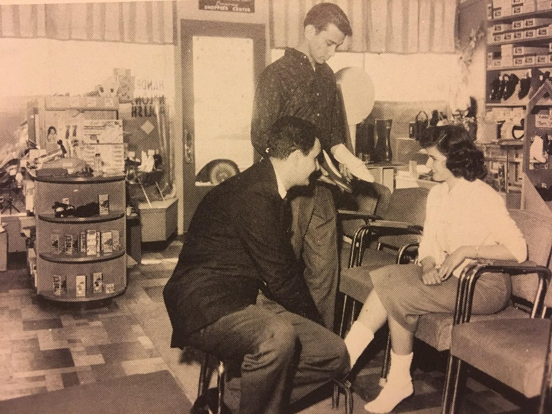 Burlington Footwear, late 1950s