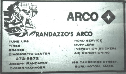 Randazzo's Arco station, Burlington MA