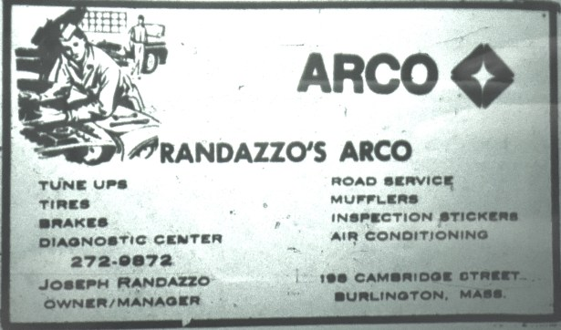 Randazzo's Arco station, Burlington MA