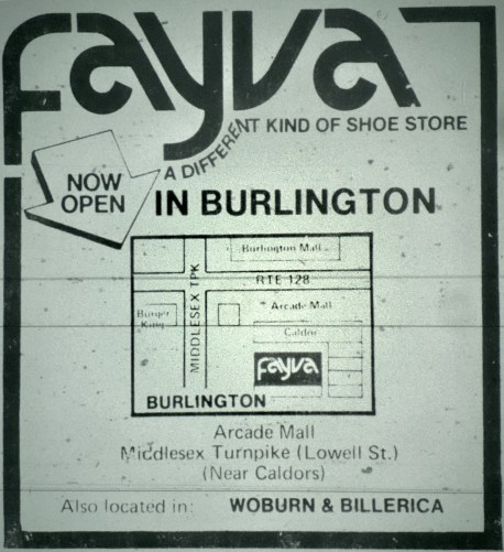 Fayva Burlington MA