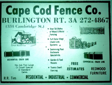 Cape Cod Fence, Burlington MA