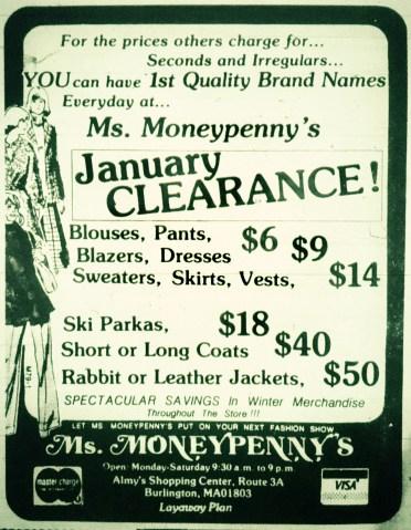 Ms. Moneypenny's Burlington MA