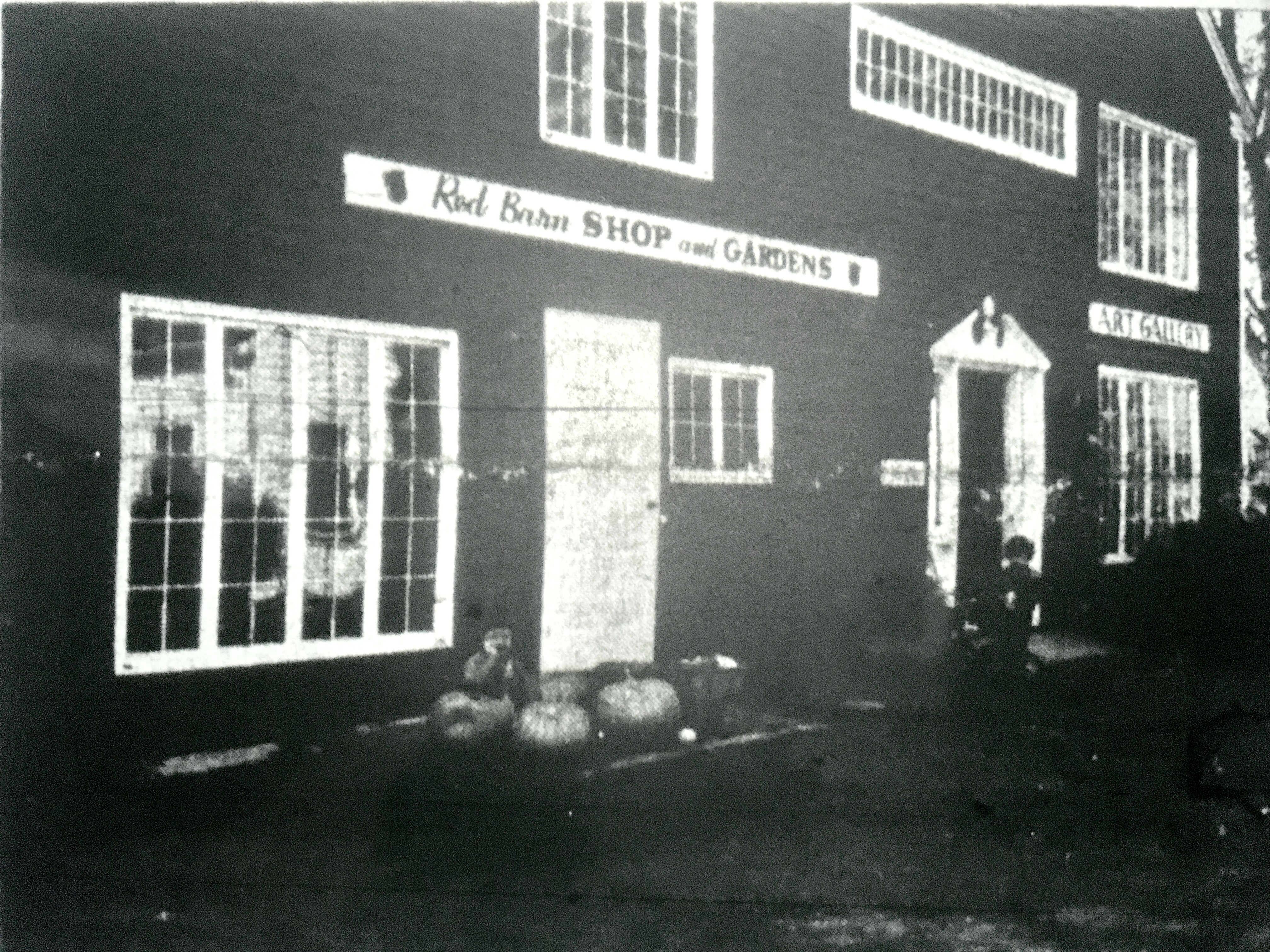 Red barn shop, Burlington MA