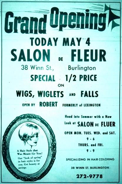 Salon De Fleur grand opening Burlington MA