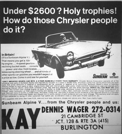 Kay motors Burlington MA