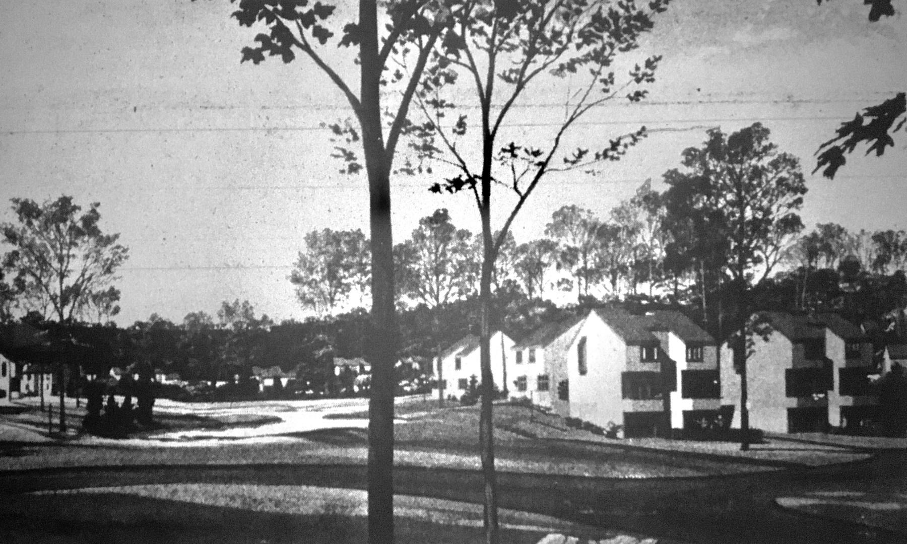 Beacon Village, Burlington MA rendering