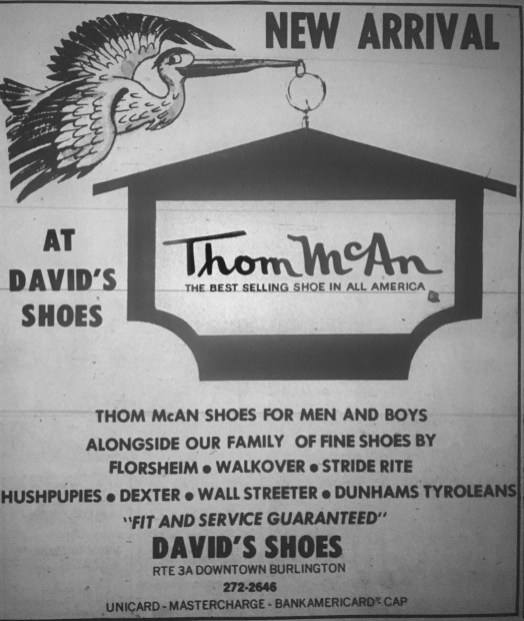 David's Shoes Burlington MA