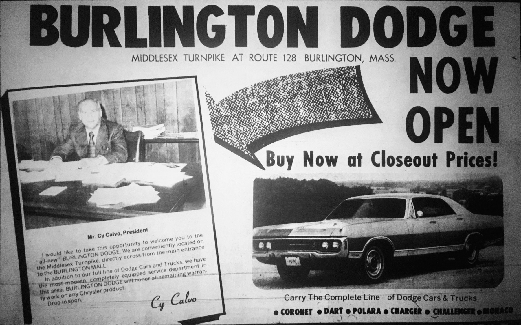 Burlington Dodge grand opening