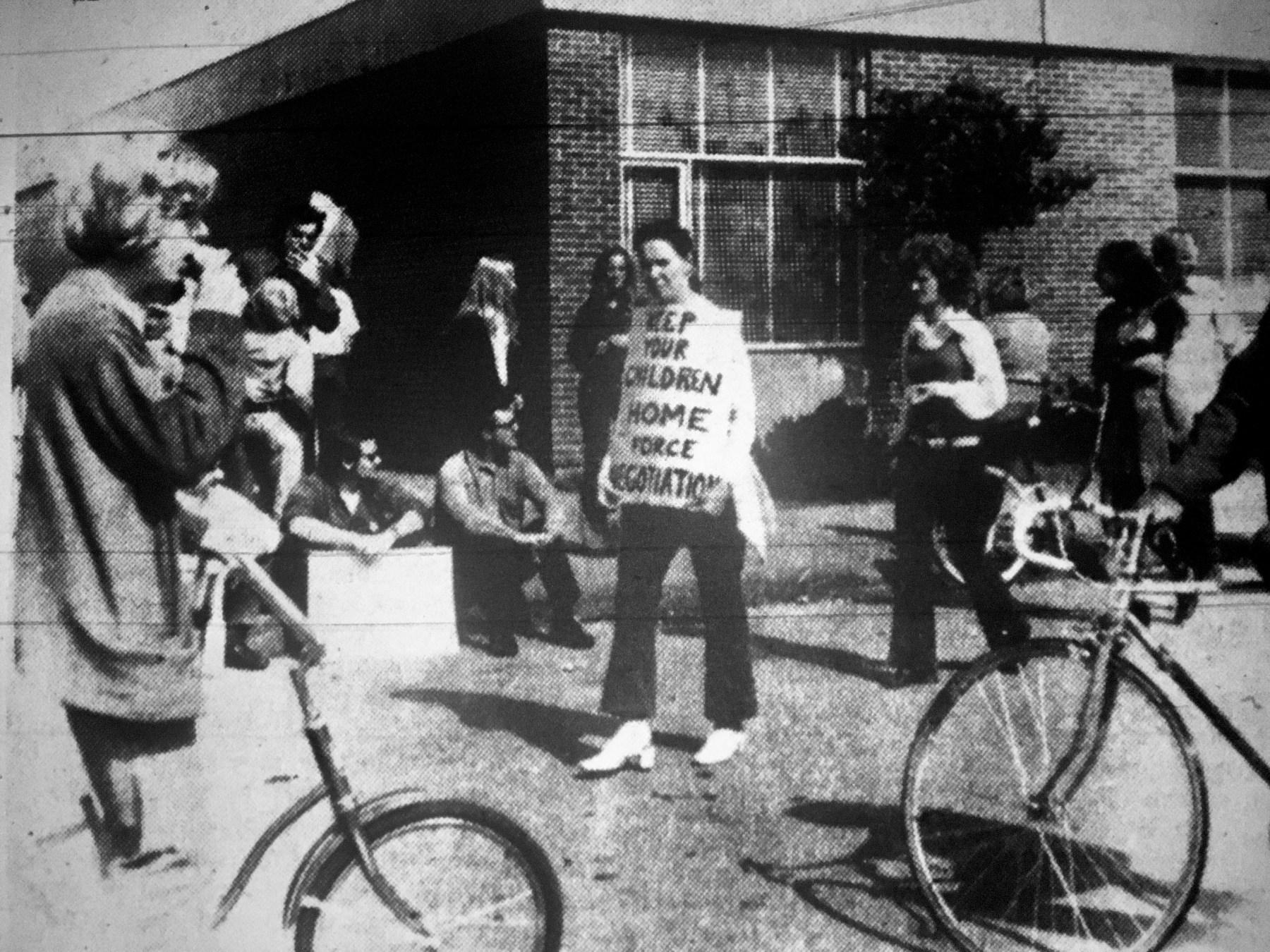 Teacher strike, Burlington MA
