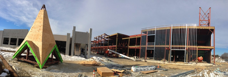 Wegmans under construction, Burlington MA