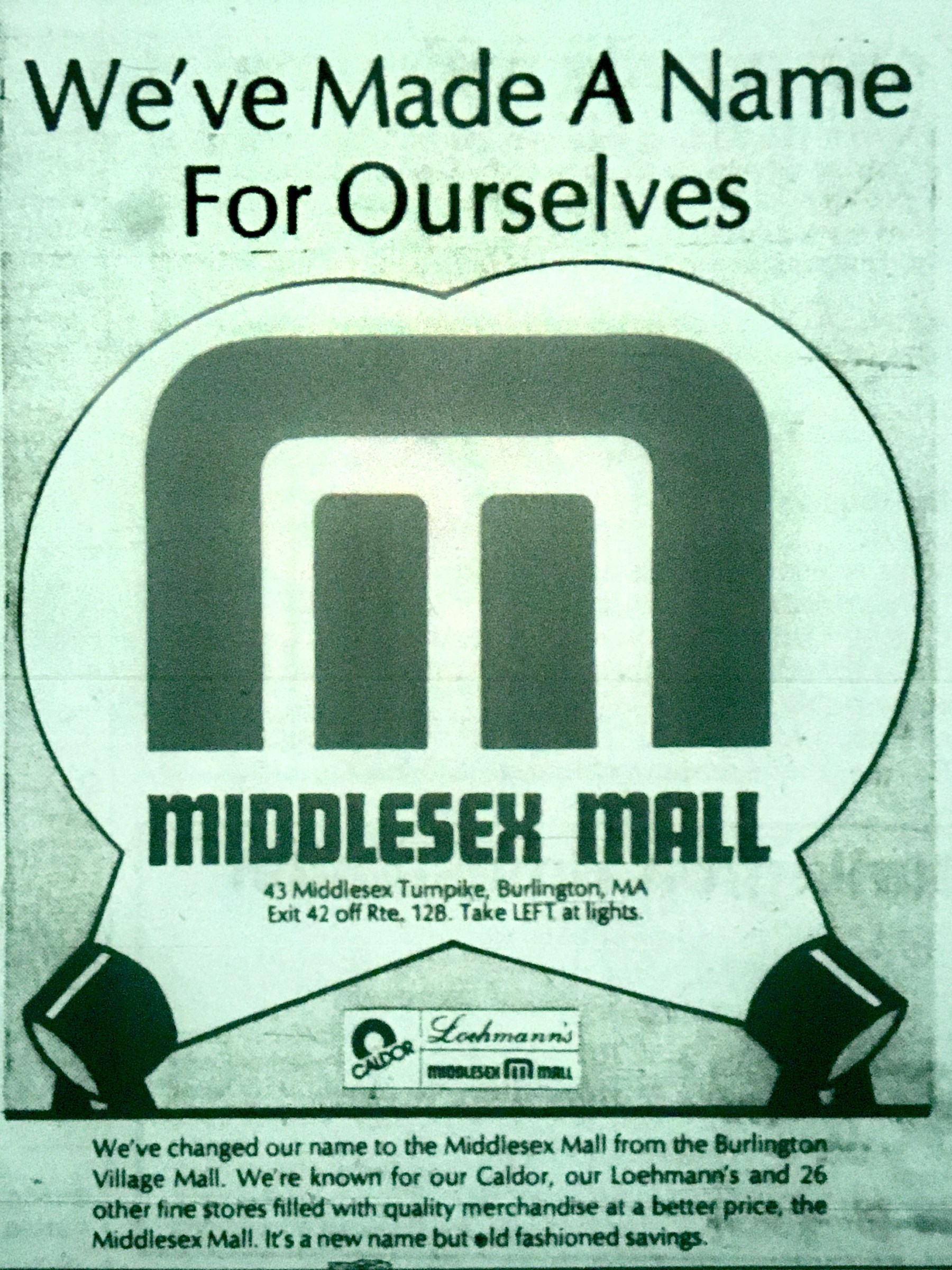 Middlesex Mall Burlington MA